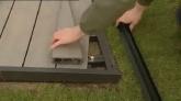 Montaj pardoseala de terasa - Twinson