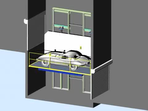 Platforma auto hidraulica - KTS KLEEMANN