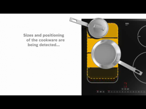 Flexibilitate desavarsita cu noile plite FlexInduction de la Bosch Electrocasnice BOSCH