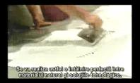 Montarea marmurei albe de Carrara