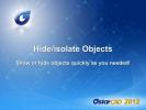 GstarCAD - Ascunderea - izolarea obiectelor