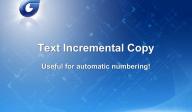 GstarCAD - Copierea incrementala a textului