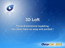 GstarCAD - Crearea solidului 3D (loft)