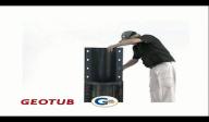 Cofraj refolosibil pentru coloane cilindrice - GEOTUB