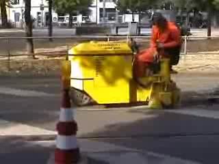 Masina pentru frezat sapa si beton OMF 250 SCHWAMBORN