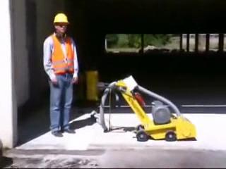 Masina pentru frezat sapa si beton BEF 250  SCHWAMBORN