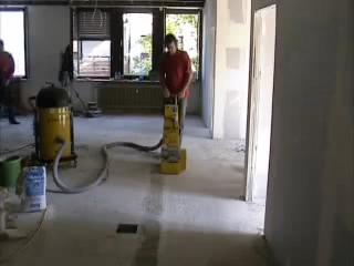 Masina pentru frezat sapa si beton BEF 201 SCHWAMBORN