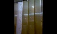 Jaluzele verticale cu lamele din material textil