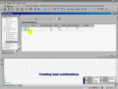 Grinzi in AxisVM INTER CAD
