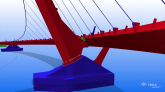 Tekla Global BIM Awards 2011 Steel category winner - Peace Bridge, Northern Ireland