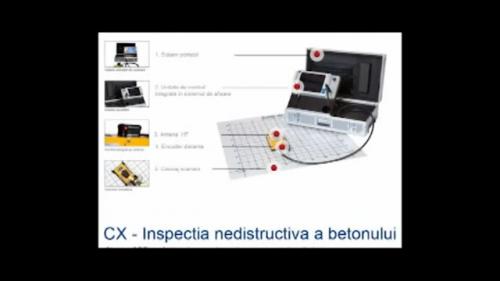 Cofraje termoizolante inglobate - Verificarea nedistructiva a turnarii betonului MARC