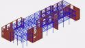 Cofraje termoizolante inglobate - Structura in cadre din beton armat - simulare comportare cadre - Transversal
