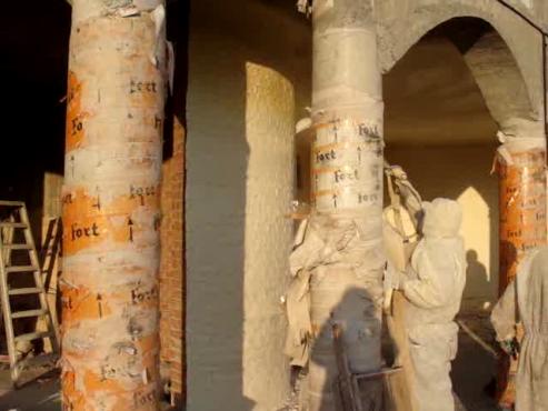 Executie termoizolatie biserica 2 GENIDA AB