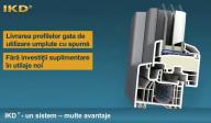 Prelucrarea profilelor umplute cu spuma - IKD