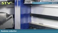 Vitraj static uscat STV - Metoda de lipire a sticlei de cercevea