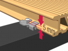 Montajul sistemului de pavare terase Relazzo