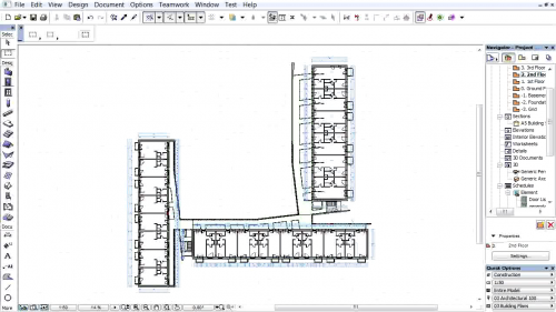 Document 3D pe baza planurilor de nivel - Crearea documentelor 3D pe baza planurilor de nivel GRAPHISOFT