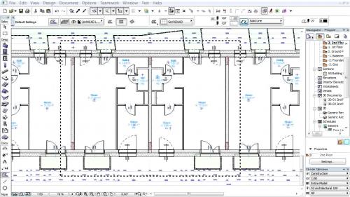 Document 3D pe baza planurilor de nivel - Crearea documentelor 3D pentru reprezentarea tavanelor GRAPHISOFT