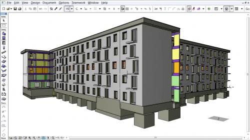 Document 3D pe baza planurilor de nivel - Salvarea modelului 3D in noul format STL GRAPHISOFT