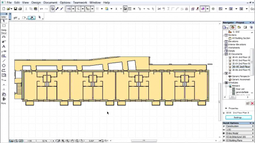 Document 3D pe baza planurilor de nivel - Setarile documentelor 3D GRAPHISOFT