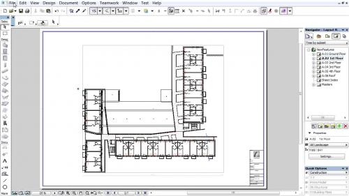 Document 3D pe baza planurilor de nivel - Suportul pentru fisiere arhiva PD-FA GRAPHISOFT