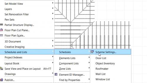 Imbunatatiri ale bibliotecilor de obiecte - Imbunatatiri la listarea ale elementelor RoofMaker GRAPHISOFT