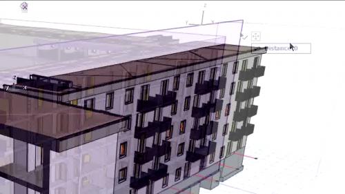 Planuri de taiere 3D intercative - Oglindirea, ascunderea si stergerea planurilor de taiere GRAPHISOFT