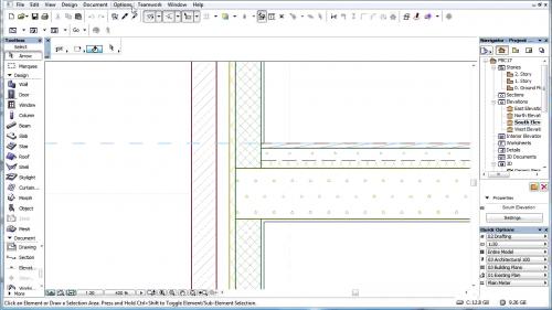 Materiale de constructii inteligente - Materiale de constructie in atribute manager GRAPHISOFT