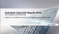 Software inginerie si GIS - AutoCAD Map 3D 2014 - What's New