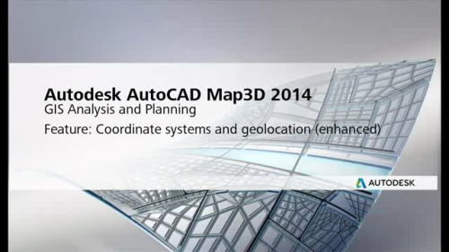 Software inginerie si GIS - AutoCAD Map 3D 2014 - What's New AUTODESK
