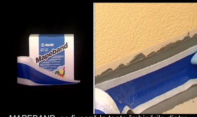 MAPEI Hidroizolatie sub placare ceramica pentru balcoane si terase Mapelastic