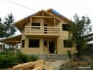 Prezentare constructie casa din lemn Surani Prahova