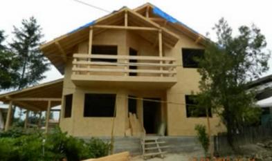 CASANEO Prezentare constructie casa din lemn Surani Prahova