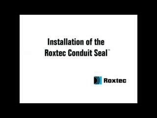 Instalare rama Roxtec Conduit Seal ROXTEC