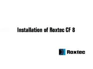 Instalare rama Roxtec CF8/CF32 ROXTEC