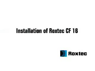 Instalare rama Roxtec CF16 ROXTEC