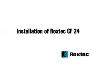 Instalare rama Roxtec CF24 ROXTEC