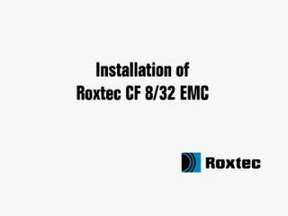 Instalare rama Roxtec CF8 / CF32 EMC ROXTEC
