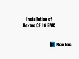 Instalare rama Roxtec CF16 EMC ROXTEC