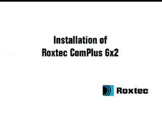 Instalare rama Roxtec ComPlus ROXTEC