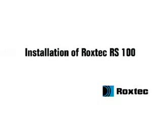 Instalare rama Roxtec RS ROXTEC