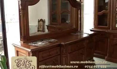 CASA MOBILA SIMEX Mobilier din lemn masiv Casa Mobila Simex - Spot publicitar 1