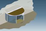 Perdea de aer arhitecturala pentru usi rotative Rondo