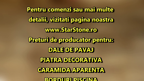 Piatra decorativa din travertin - Split Face STAR STONE
