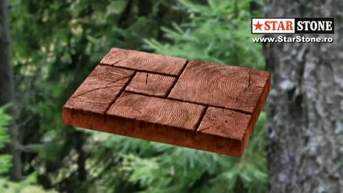 Dale pentru amenajarea gradinilor - Forest STAR STONE