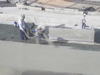 Echipamente pentru aplicare poliurea stadion MARACANA BASF