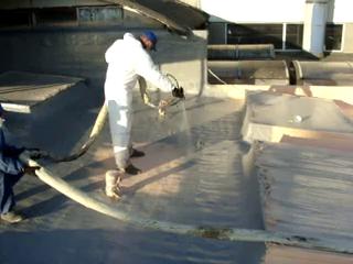 Aplicare poliurea acoperis - exemplul 4 BASF