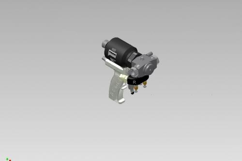 Echipamente pentru aplicare termoizolatii din spuma poliuretanica si poliurea - Master 3 GAMA