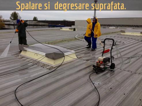 Reabilitare acoperis cu spuma poliuretanica BASF