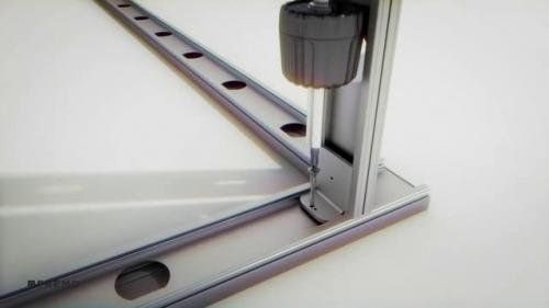 Pereti despartitori modulari demontabili - PRIMACY ESQUINA PREMO